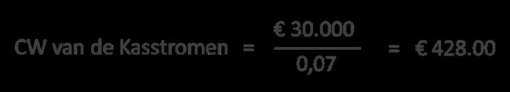 meerdere jaren procenten berekenen